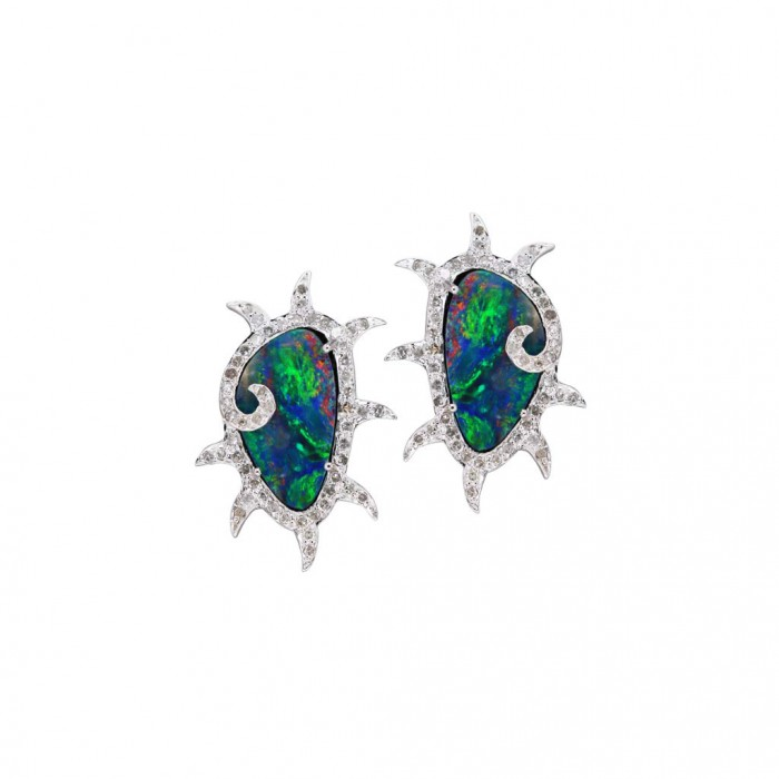 PLUKKA Opal Earrings