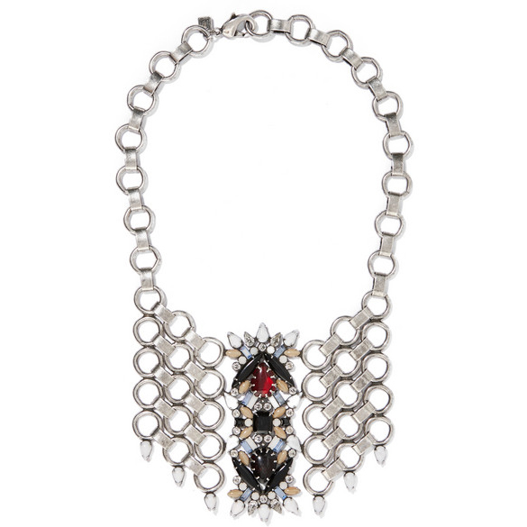 DANNIJO Swarovski crystal necklace