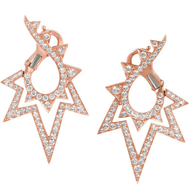STEPHEN WEBSTER Lady Stardust 18K Earrings