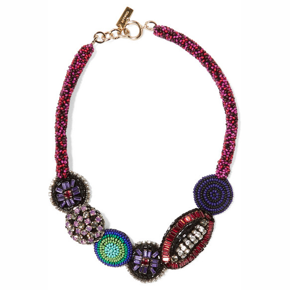 ETRO crystal necklace