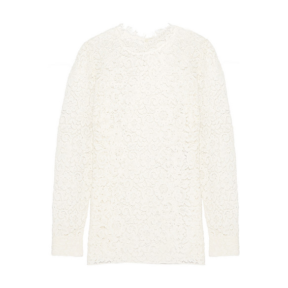 SAINT LAURENT Lace blouse
