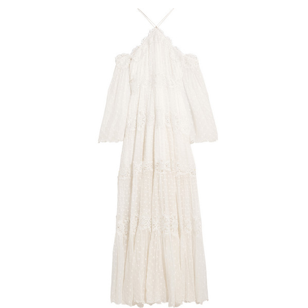 ZIMMERMANN Lace maxi dress