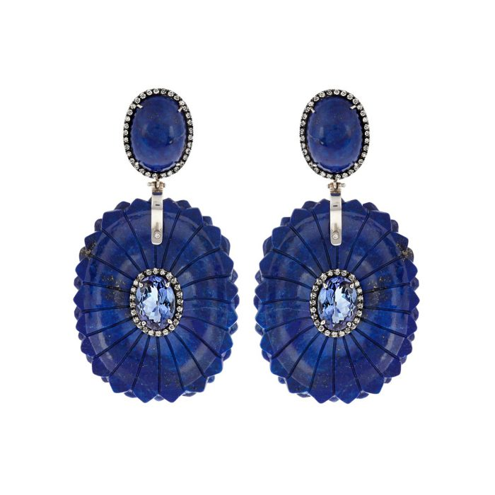 Silvia Furmanovich Tanzanite Earrings