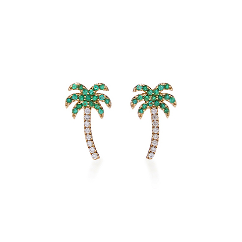 Sydney Evan Palm Tree Studs