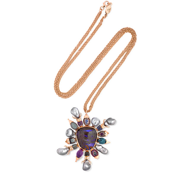 Daniela Villegas Asteria Multi Stone Necklace