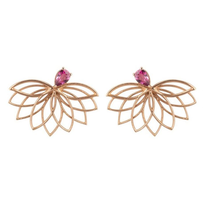 Joana Salazar Lotus Flower Earrings