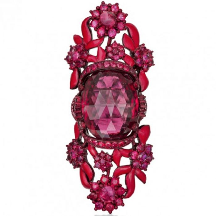 Lydia Courteille Scarlet Empress Ring
