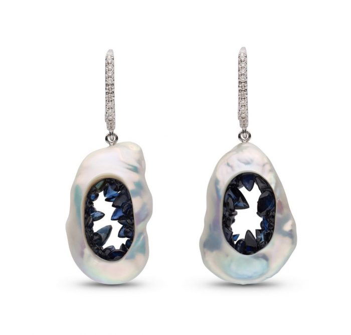 Little H Sapphire Grotto Earrings