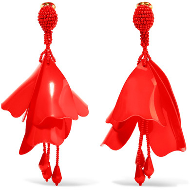 OSCAR DE LA RENTA Large earrings