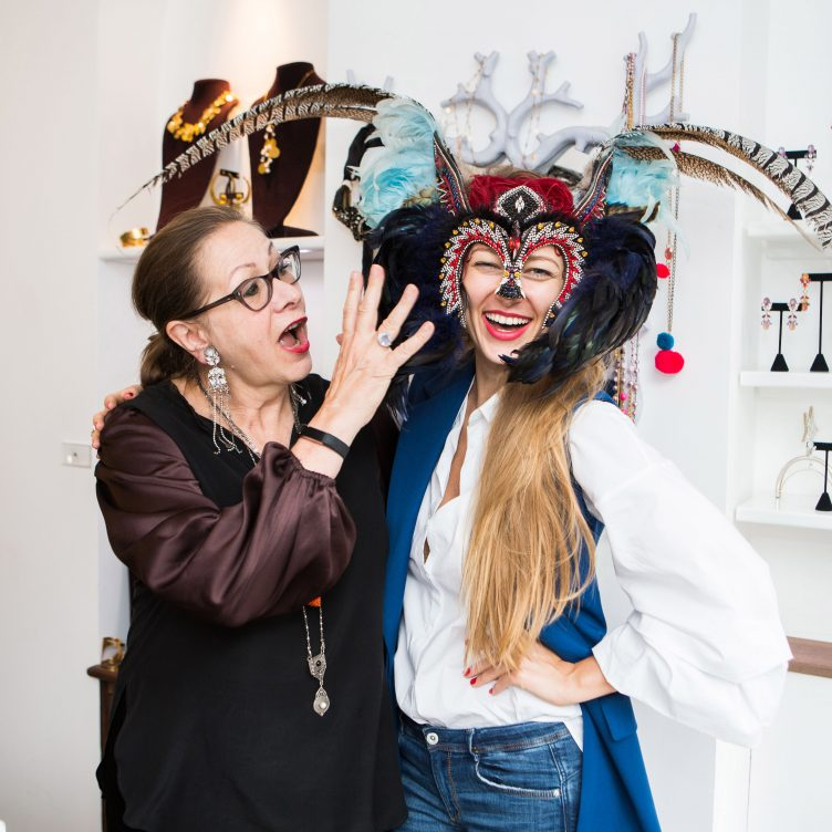 LIZA URLA'S JEWELLERY CURATION AT VICKISARGE BOUTIQUE IN LONDON BELGRAVIA