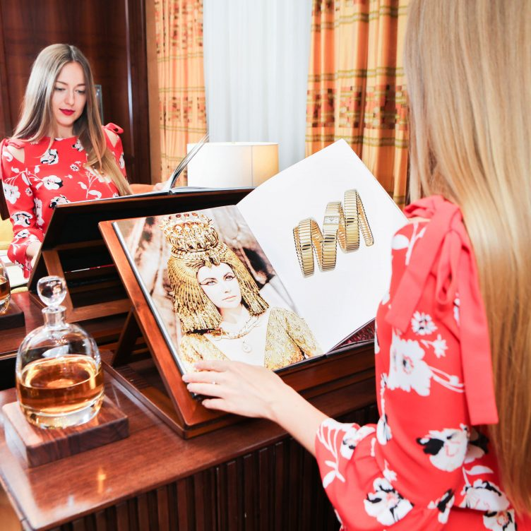 BULGARI AFTERNOON TEA DISCOVERING FESTA HIGH JEWELLERY