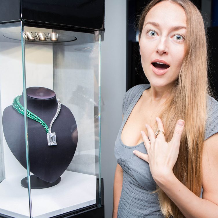 LARGEST FLAWLESS DIAMOND EVER TO COME TO AUCTION