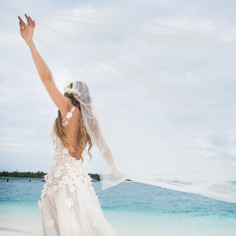 MY BRIDAL LOOK…WEDDING CEREMONY, MALDIVES