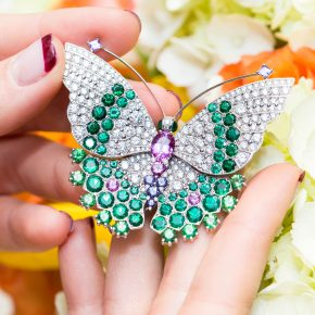 GEMOLOGUE_Liza Urla_jewellery blogger_jewelry blog_jewellery_high jewellery_Van Cleef ring_Van Cleef Harrods_Van Cleef new boutique harrods_Harrods Fine Jewellery Room_Harrods jewelry_butterfly jewelry_Ekaterina Kukhareva