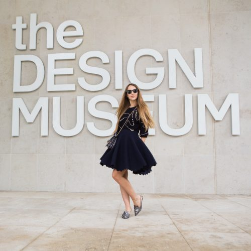 GEMOLOGUE_Liza Urla_jewellery blogger_jewelry blog_jewellery_vinul jewelry_FDQ Jewels_Flaminia Quattrocchi_the Design Museum_Azzedine Alaïa exhibition opening_Azzedine Alaïa dress_Azzedine Alaïa skirt_vinul earrings