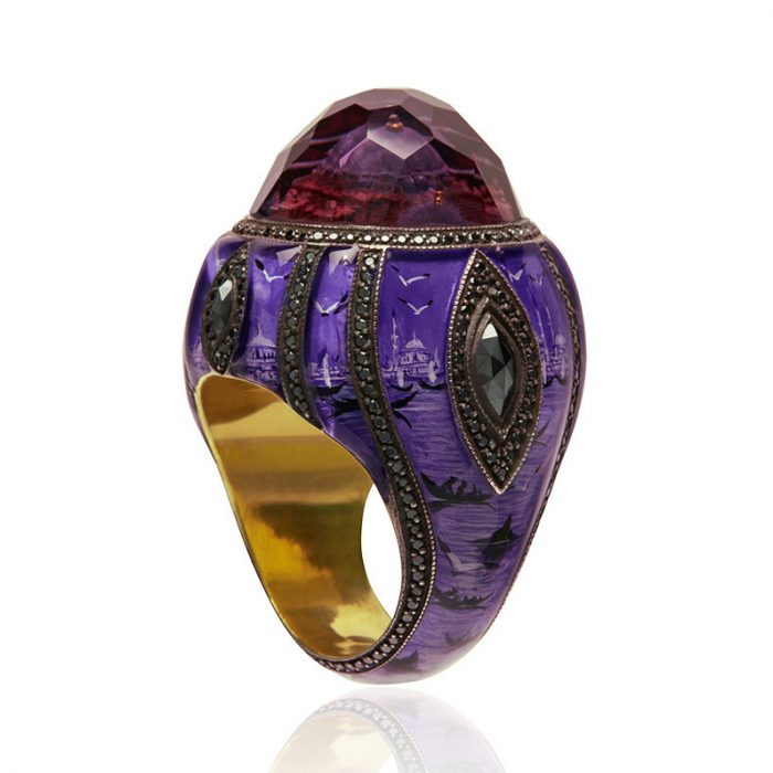 Sevan Bicakci Ottoman Architecture-Inspired Gold Ring