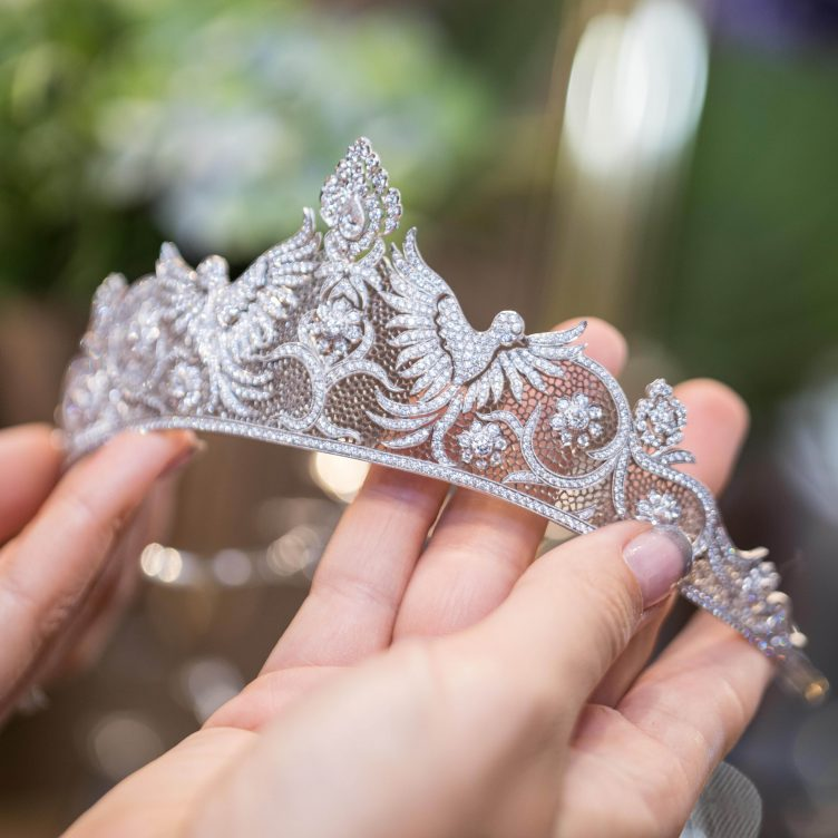 """BUCCELLATI """"TULLE"""" HIGH JEWELLERY COLLECTION, PARIS COUTURE WEEK 2018"""