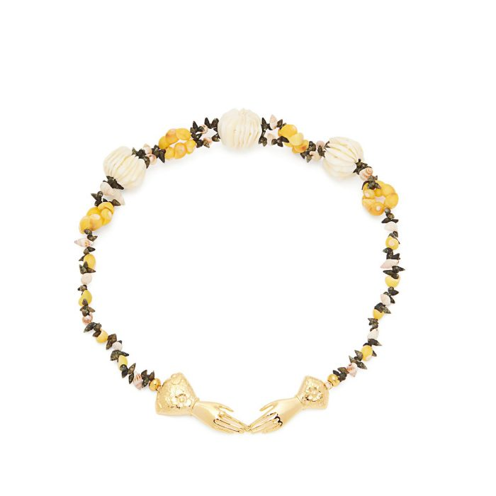 Heimat Atlantica Eloise Shell-Embellished Necklace