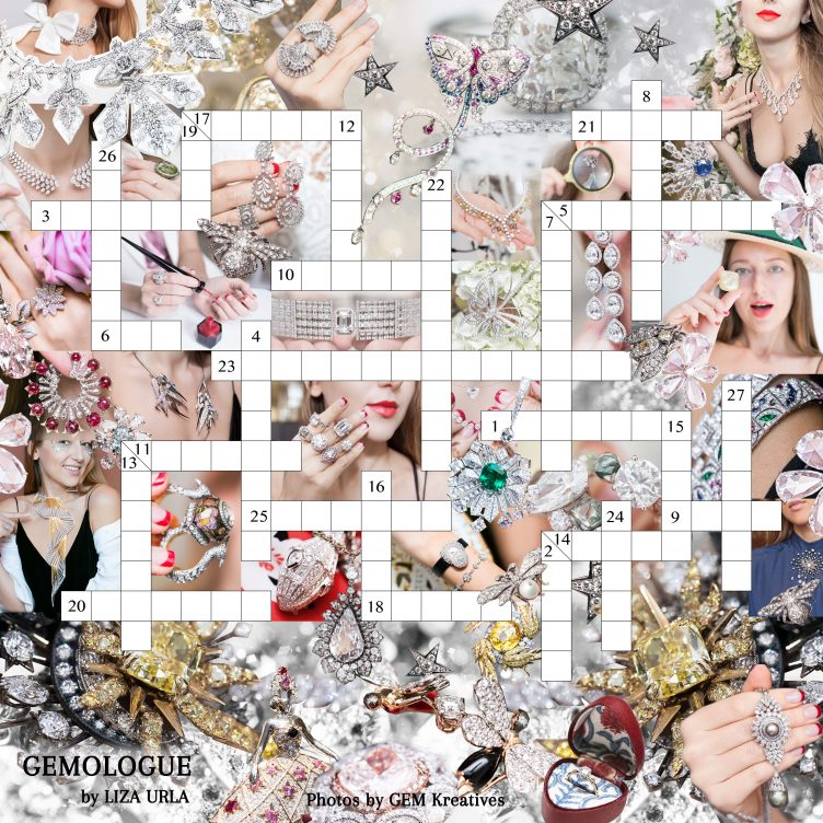 GEMOLOGUE DIAMOND CROSSWORD