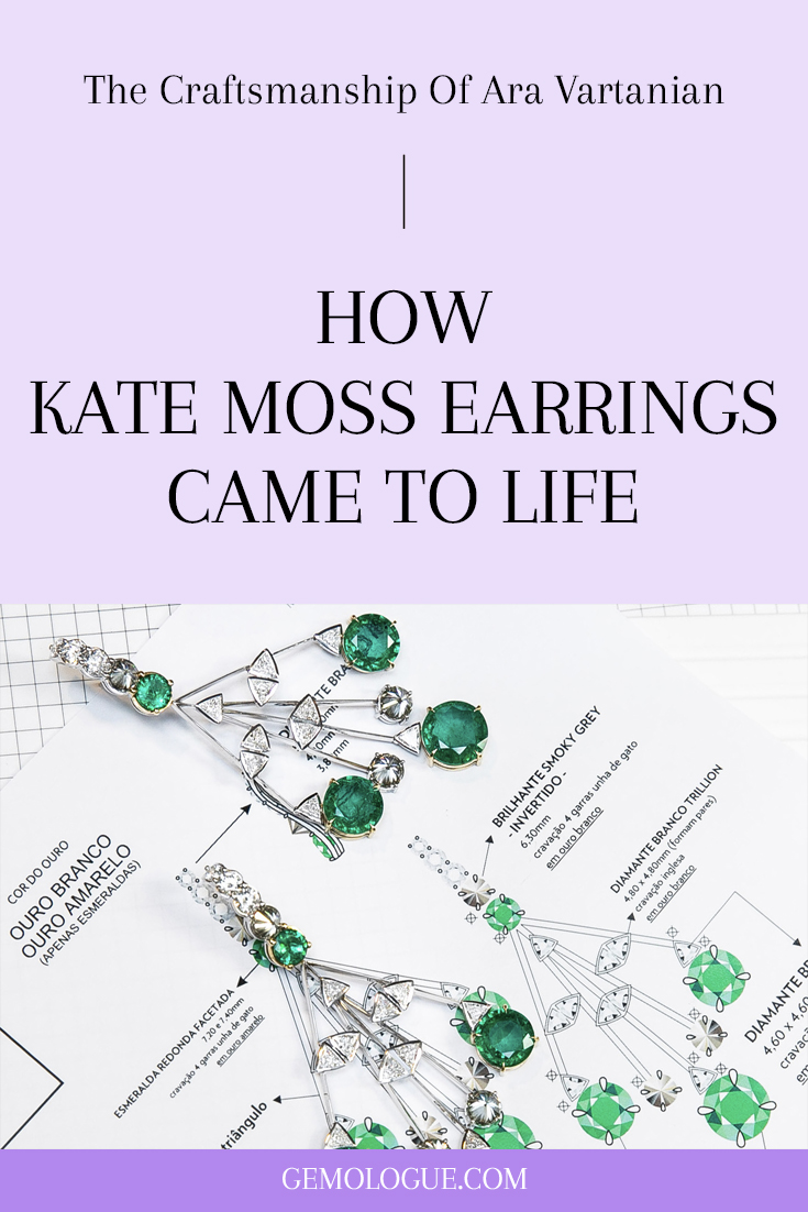 GEMOLOGUE_Liza Urla_jewellery blogger Liza_jewelry blogger Liza_jewelry blog_jewellery blog UK_jewellery blog London_blog about jewellery_ara vartanian earrings_ara vartanian emerald earrings_ara vartanian jewelry_ara vartanian kate moss_how diamond jewellery is made_how diamond jewelry is made_hook drop earrings_zambian emerald earrings