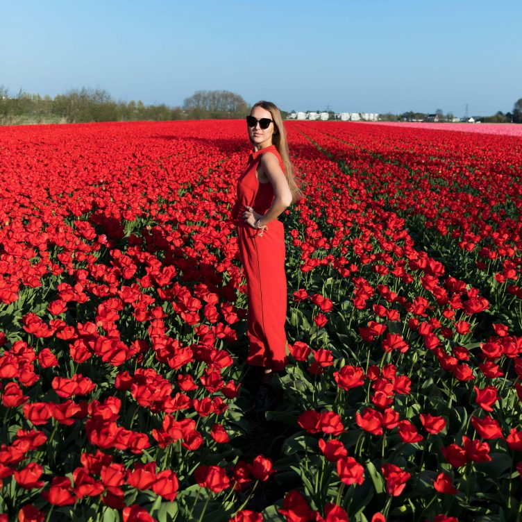 GET THE LOOK: AMSTERDAM TULIP FIELDS