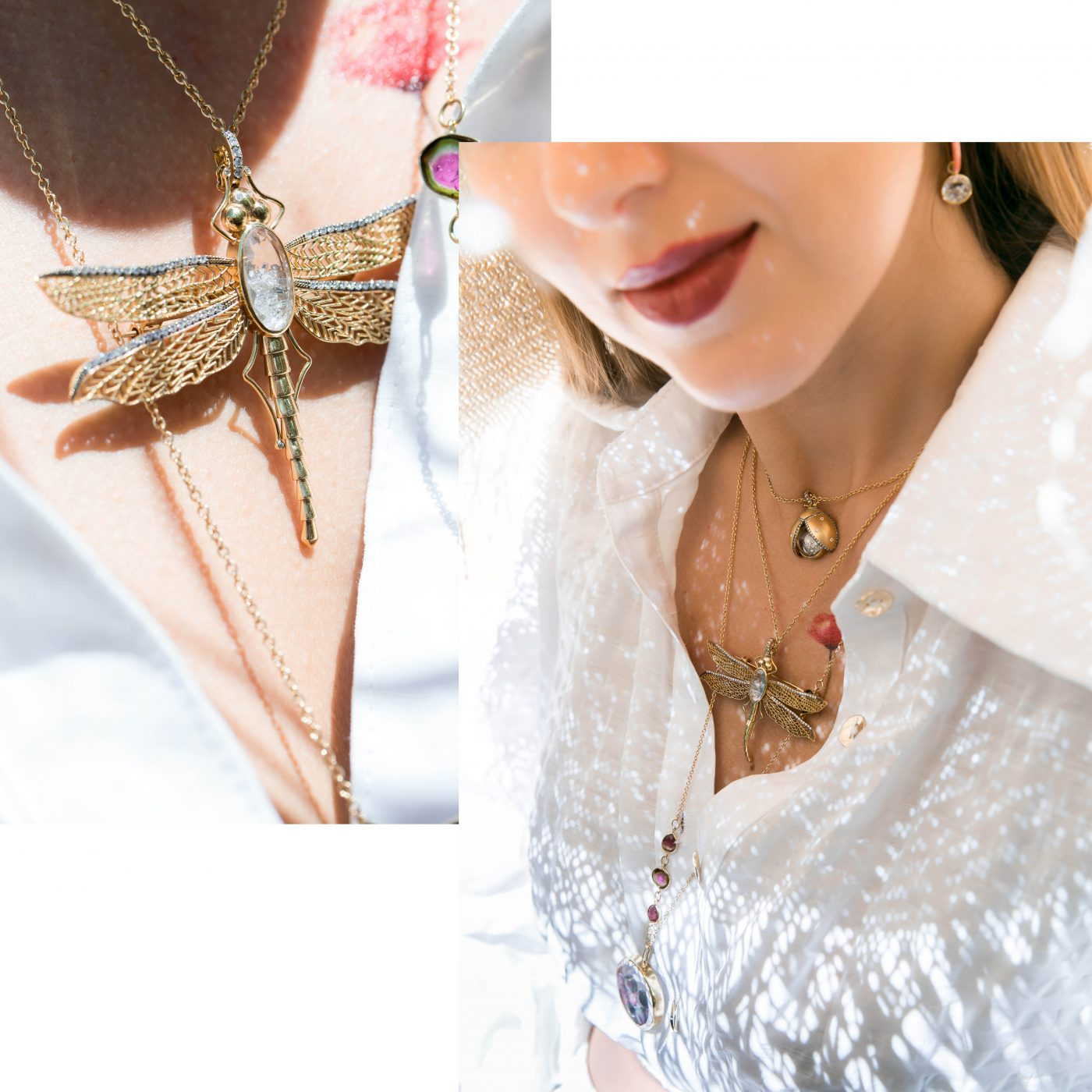 GET THE LOOK: TIMELESS BUG JEWELLERY TREND