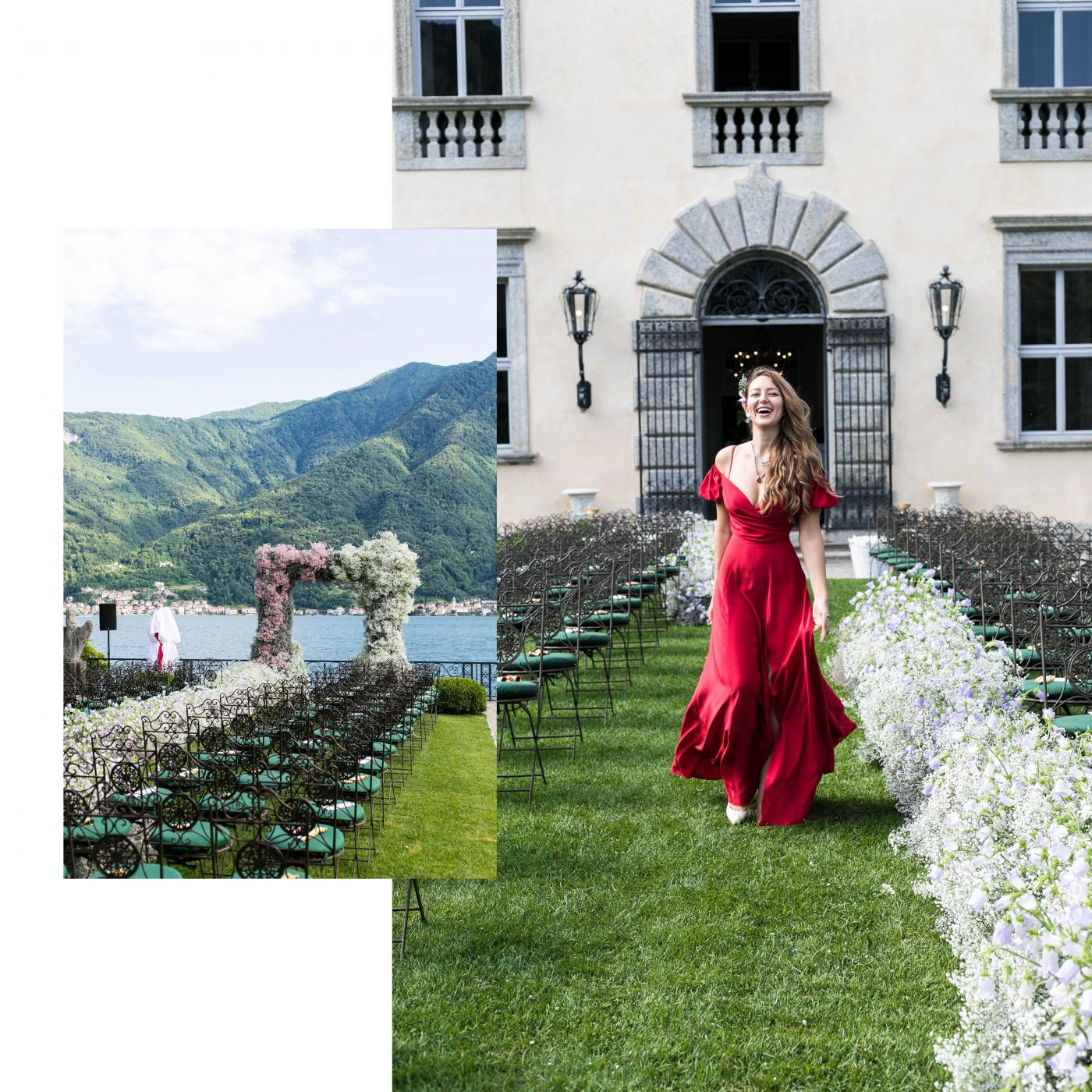 GET THE LOOK: HOW TO ACCESSORISE BRIDESMAID DRESS, LAKE COMO WEDDING