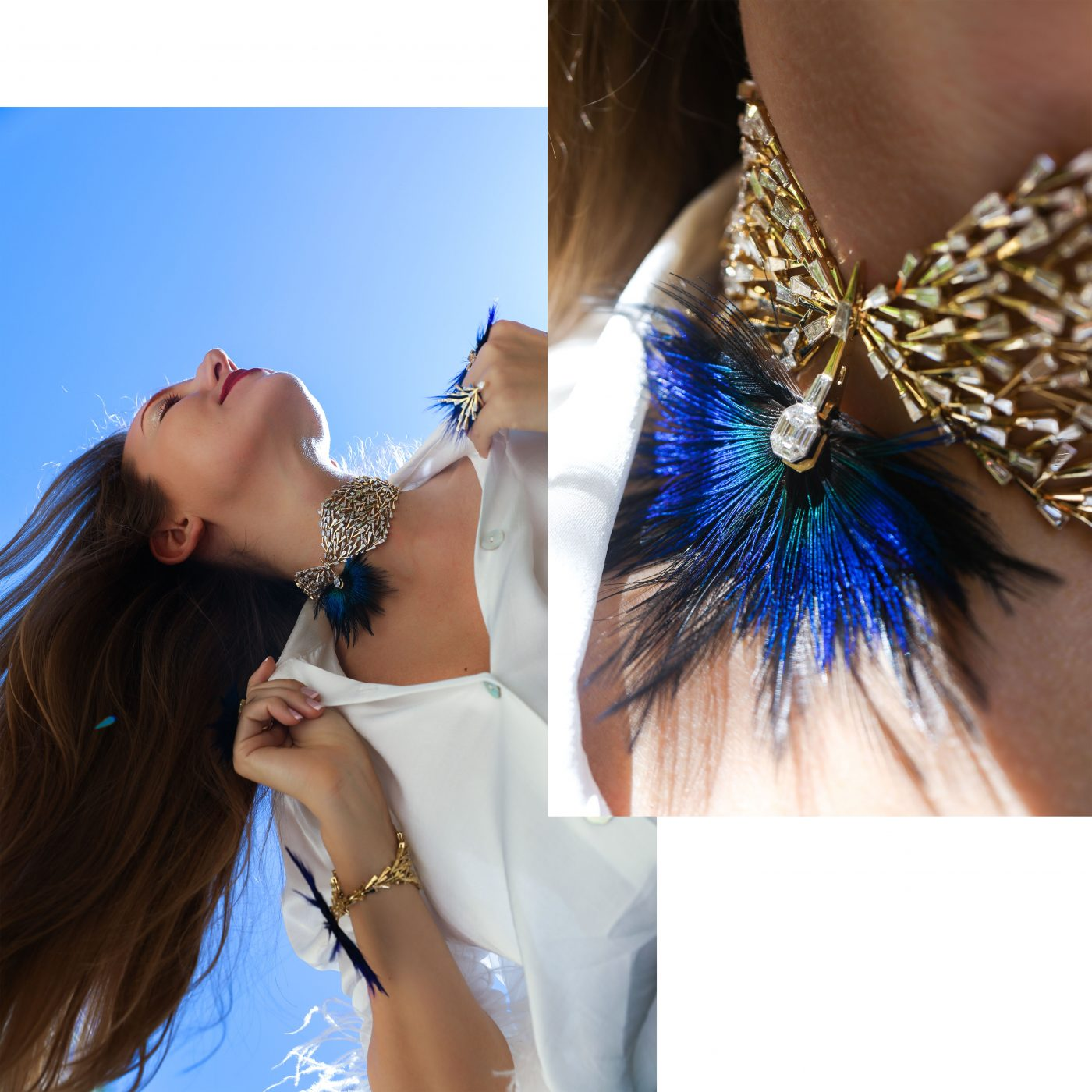 GET THE LOOK: FEATHER JEWELLERY TREND REVIVAL, Victoria's Jewelry Box