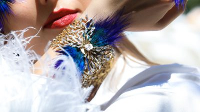 GET THE LOOK: FEATHER JEWELLERY TREND REVIVAL