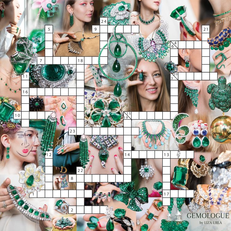 HOLIDAY SPECIAL: GEMOLOGUE EMERALD CROSSWORD PUZZLE