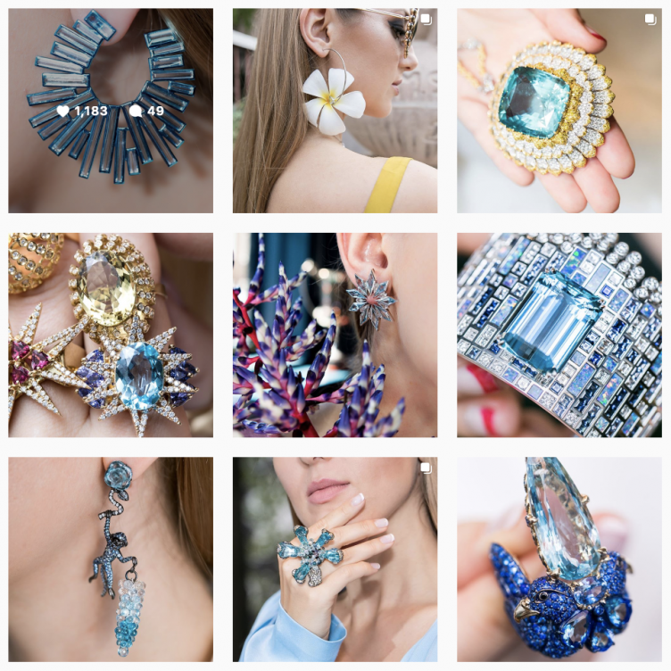 GEMOLOGUE CURATION OF THE BEST AQUAMARINE BIRTHSTONE JEWELLERY FOR MARCH