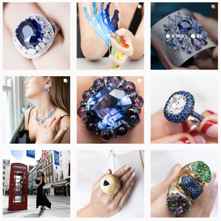 GEMOLOGUE CURATION OF THE BEST SAPPHIRE BIRTHSTONE JEWELLERY FOR SEPTEMBER