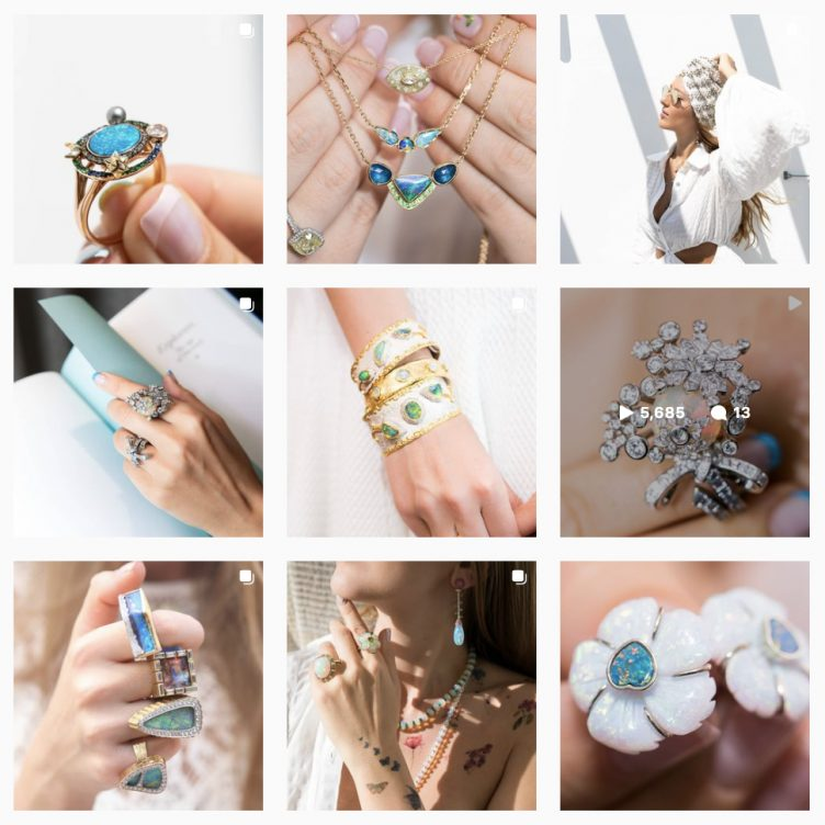 GEMOLOGUE CURATION OF THE BEST OPAL BIRTHSTONE JEWELLERY FOR OCTOBER